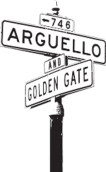 Arguello Blvd San Francyclo Location